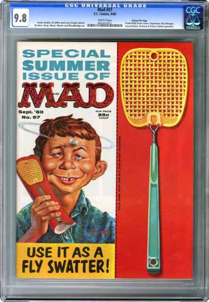 CGC Graded Comics - Mad #57 (CGC)
