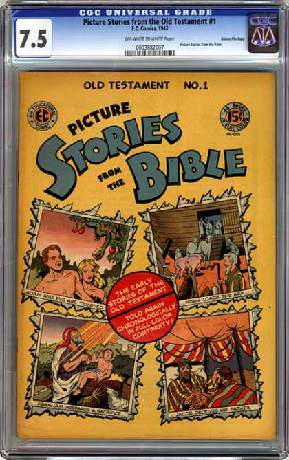 CGC Graded Comics - Picture Stories from the Old Testament #1 (CGC)
