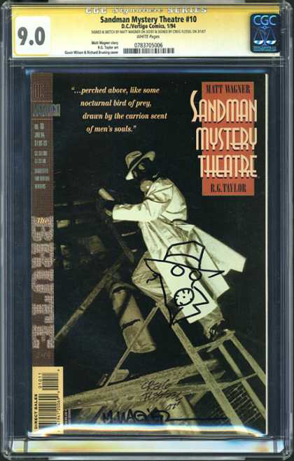 CGC Graded Comics - Sandman Mystery Theatre #10 (CGC)