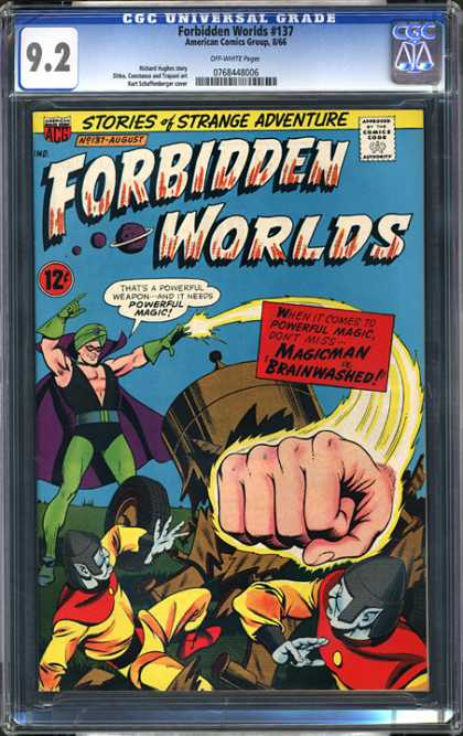 CGC Graded Comics - Forbidden Worlds #137 (CGC) - Stories - Strange - Adventure - Forbidden Worlds - Planets