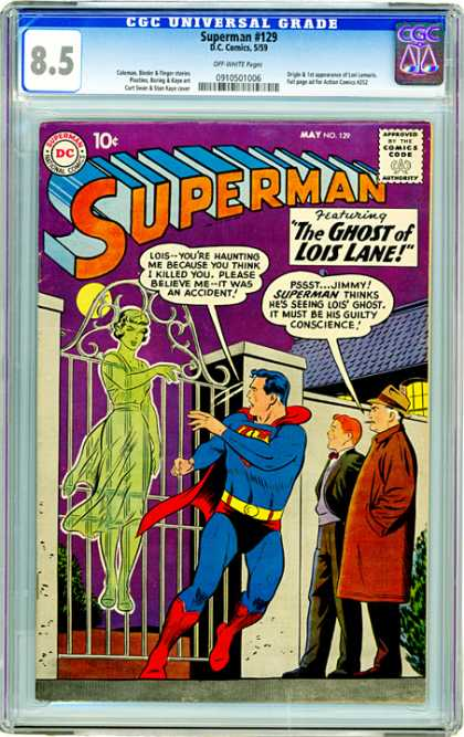 CGC Graded Comics - Superman #129 (CGC)