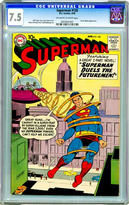 CGC Graded Comics - Superman #128 (CGC)