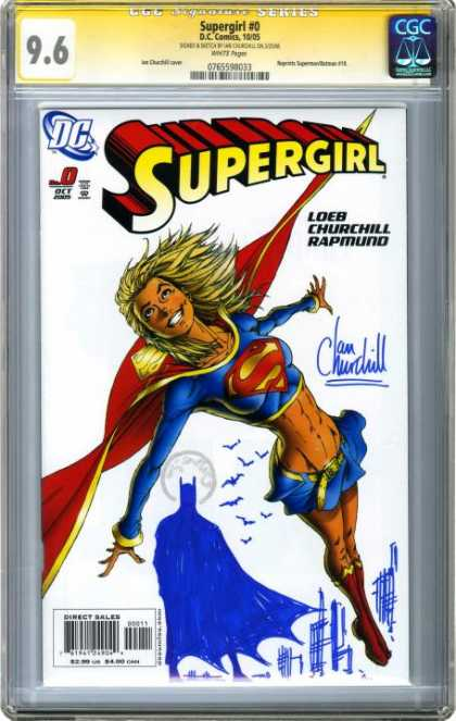 CGC Graded Comics - Supergirl #0 (CGC) - Batman - Supergirl - Blonde Hair - Red Boots - Mini Skirt