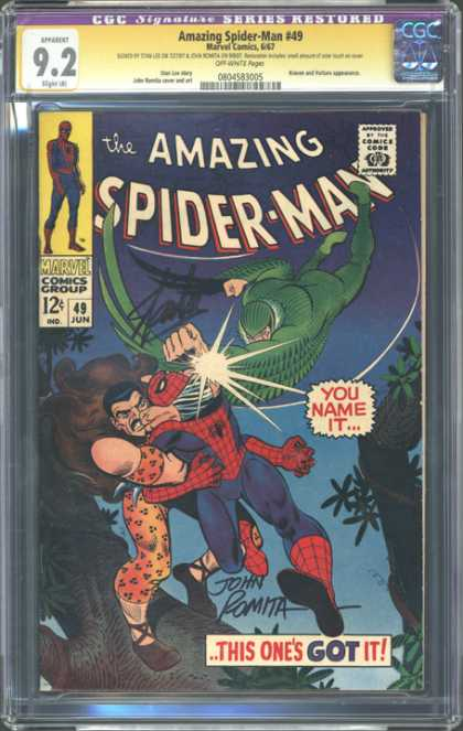 CGC Graded Comics - Amazing Spider-Man #49 (CGC)