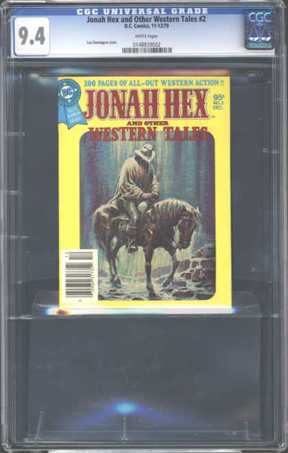 CGC Graded Comics - Jonah Hex and Other Western Tales #2 (CGC)
