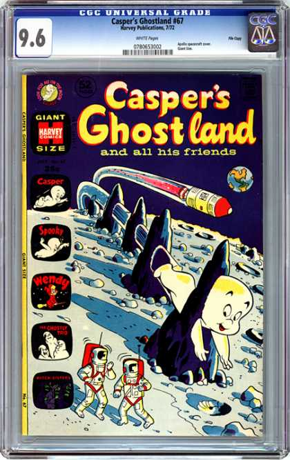 CGC Graded Comics - Casper's Ghostland #67 (CGC)