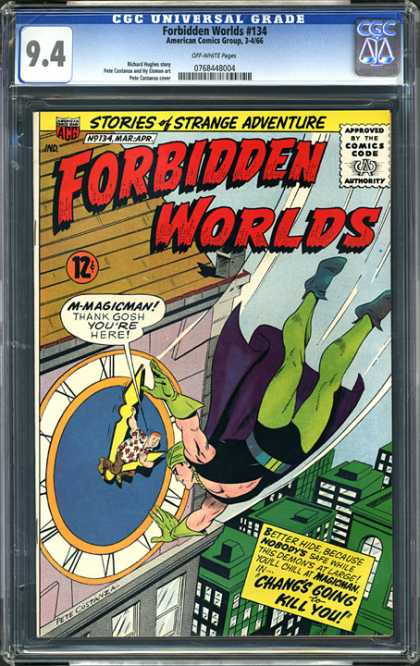 CGC Graded Comics - Forbidden Worlds #134 (CGC)