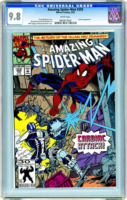 CGC Graded Comics - Amazing Spider-Man #359 (CGC)