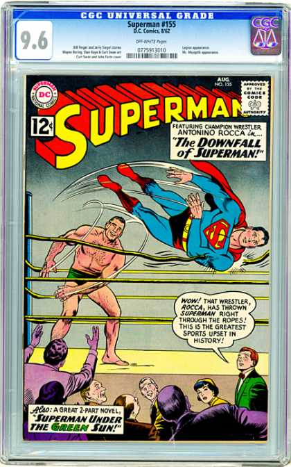 CGC Graded Comics - Superman #155 (CGC)