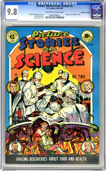 CGC Graded Comics - Picture Stories from Science #2 (CGC)