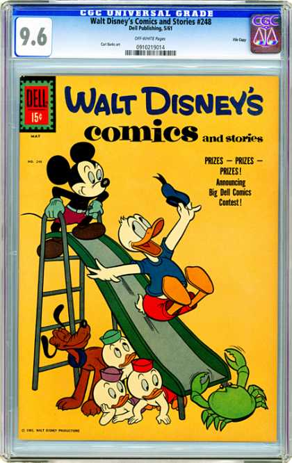 CGC Graded Comics - Walt Disney's Comics and Stories #248 (CGC)