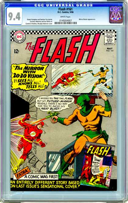 CGC Graded Comics - Flash #161 (CGC)