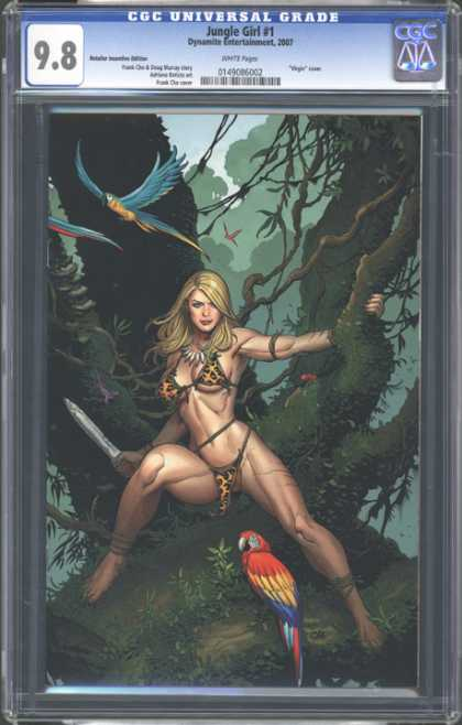 CGC Graded Comics - Jungle Girl #1 (CGC)