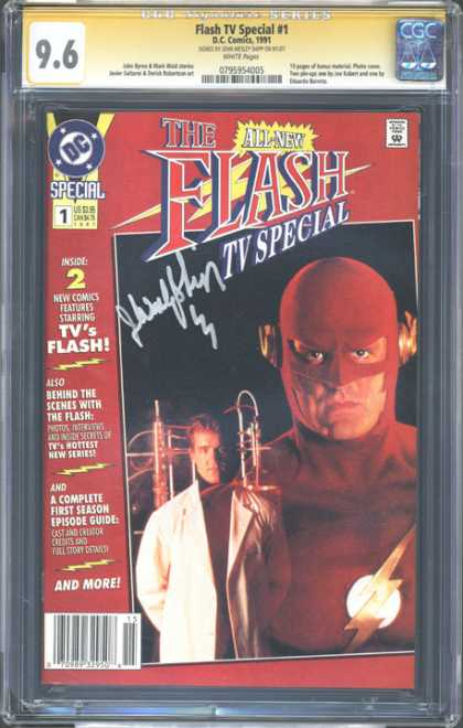 CGC Graded Comics - Flash TV Special #1 (CGC)