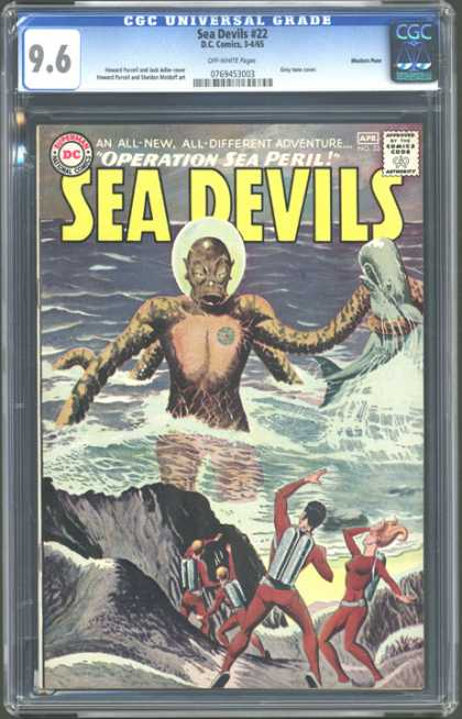 CGC Graded Comics - Sea Devils #22 (CGC)