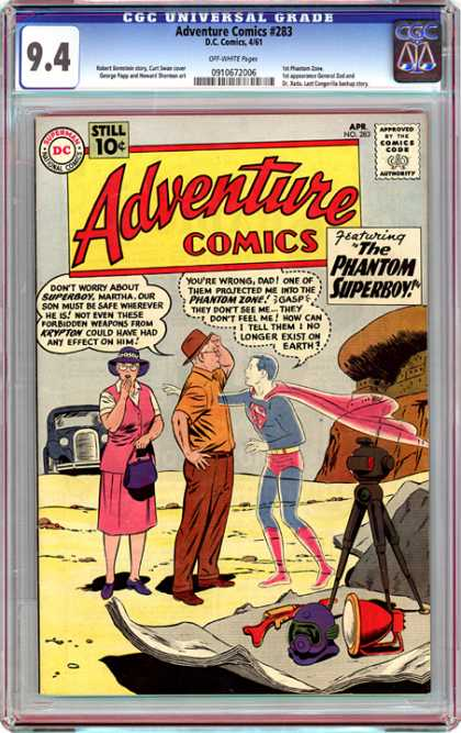 CGC Graded Comics - Adventure Comics #283 (CGC)