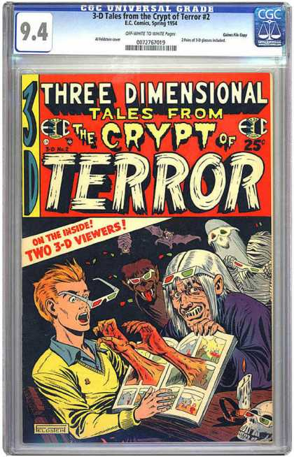 CGC Graded Comics - 3-D Tales from the Crypt of Terror #2 (CGC) - Asdcfa - Asdfc - Dscfcadsfc - Asdfcasdcf - Adsfas