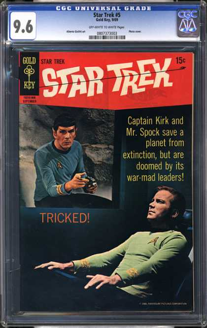CGC Graded Comics - Star Trek #5 (CGC)
