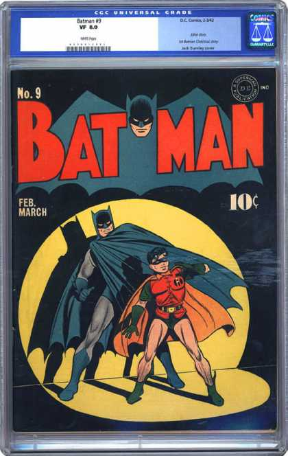 CGC Graded Comics - Batman #9 (CGC)