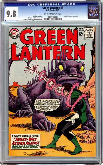 CGC Graded Comics - Green Lantern #34 (CGC)