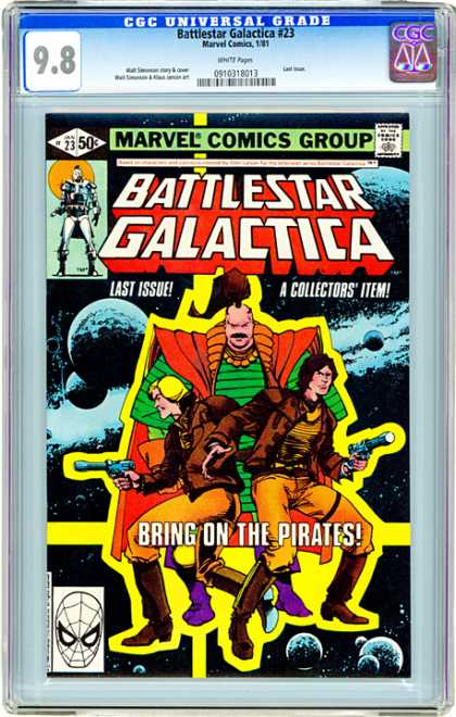 CGC Graded Comics - Battlestar Galactica #23 (CGC) - 23 - Battlestar Galactica - Marvel - Last Issue