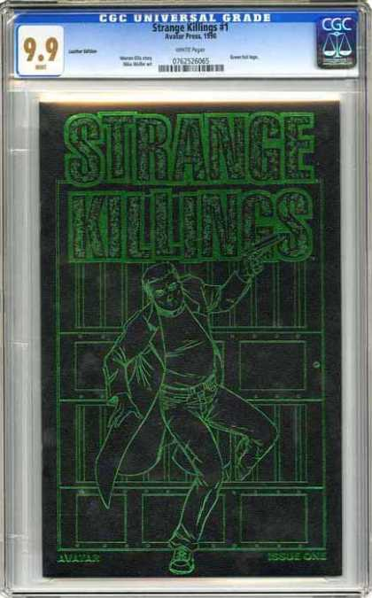 CGC Graded Comics - Strange Killings #1 (CGC) - Issue One - Etching - Gun - Man - Strange Killings