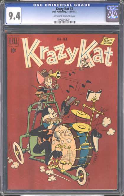 CGC Graded Comics - Krazy Kat #3 (CGC)