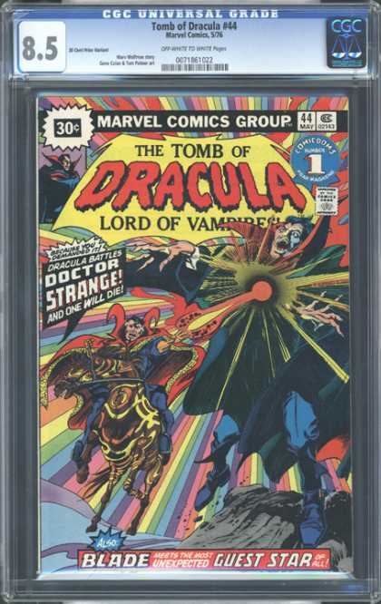 CGC Graded Comics - Tomb of Dracula #44 (CGC)