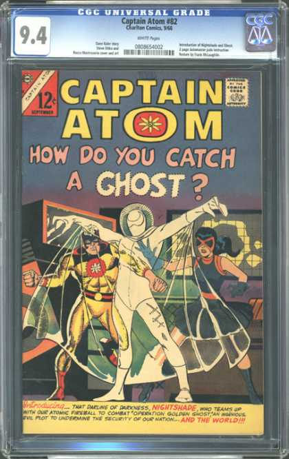 CGC Graded Comics - Captain Atom #82 (CGC)