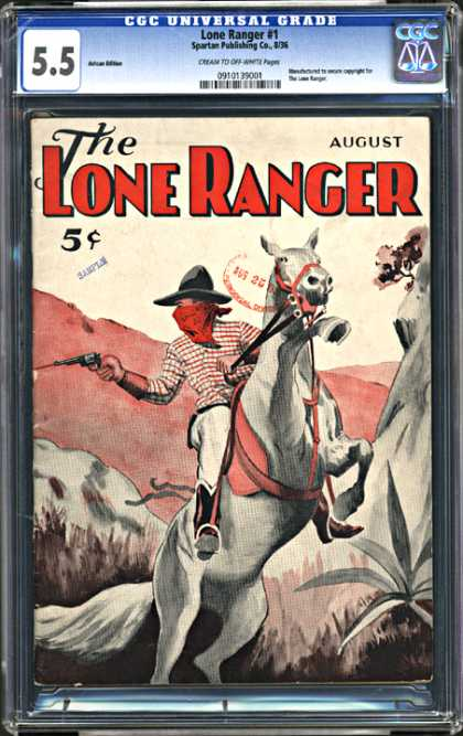 CGC Graded Comics - Lone Ranger #1 (CGC)
