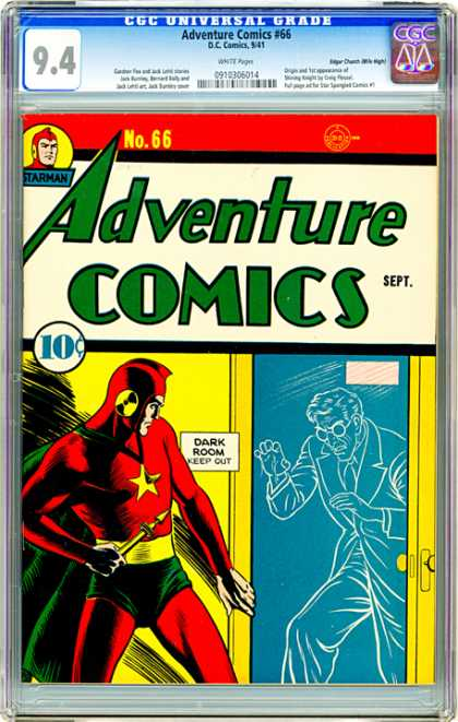 CGC Graded Comics - Adventure Comics #66 (CGC)