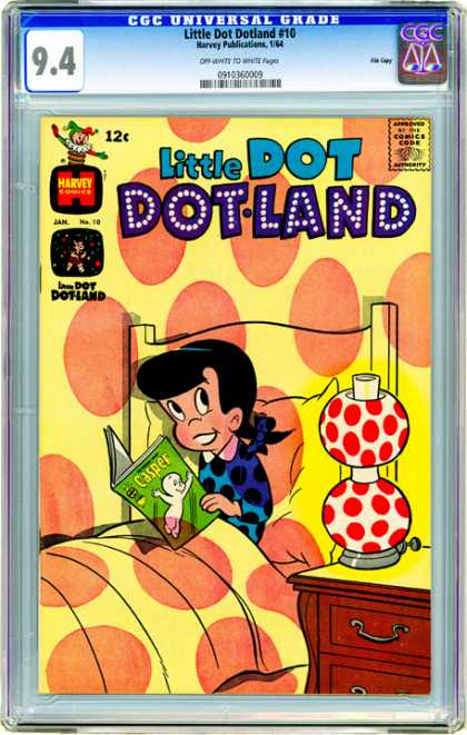 CGC Graded Comics - Little Dot Dotland #10 (CGC)