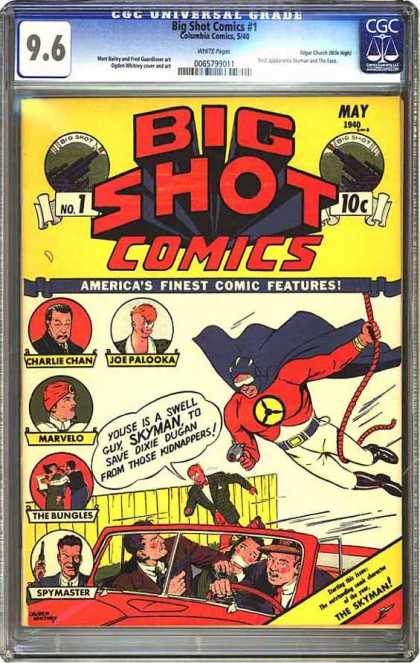 CGC Graded Comics - Big Shot Comics #1 (CGC)