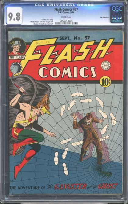 CGC Graded Comics - Flash Comics #57 (CGC)