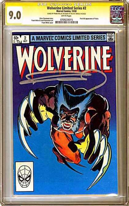 CGC Graded Comics - Wolverine Limited Series #2 (CGC)