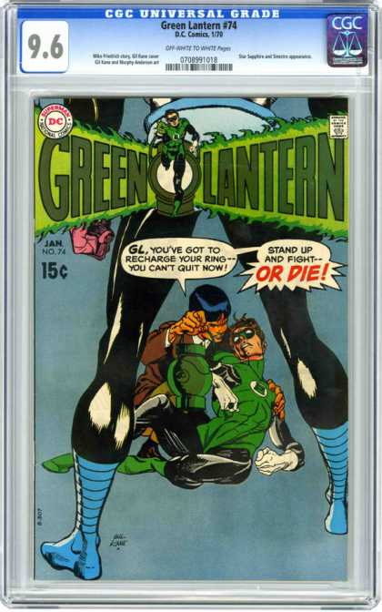 CGC Graded Comics - Green Lantern #74 (CGC)