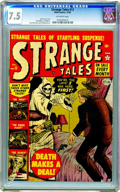 CGC Graded Comics - Strange Tales #13 (CGC)