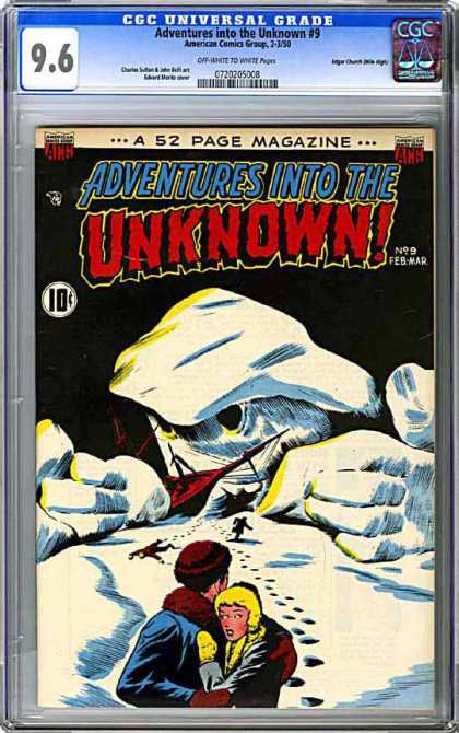 CGC Graded Comics - Adventures into the Unknown #9 (CGC)