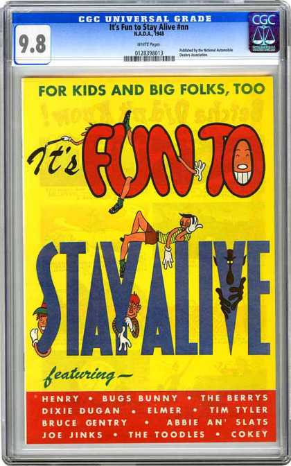 CGC Graded Comics - It's Fun to Stay Alive #nn (CGC) - Its Fun To Stay Alive - Henry - Bugs Bunny - Elmer - For Kids And Big Folks Too