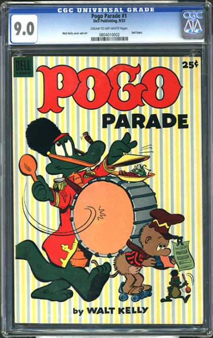 CGC Graded Comics - Pogo Parade #1 (CGC)