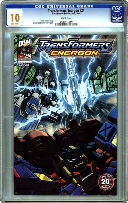 CGC Graded Comics - Transformers Energon #24 (CGC) - Transformers - Energon - 20th - 24 - Dw