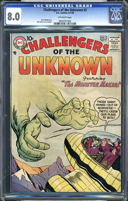 CGC Graded Comics - Challengers of the Unknown #2 (CGC)