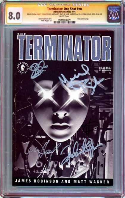 CGC Graded Comics - Terminator: One Shot #nn (CGC)