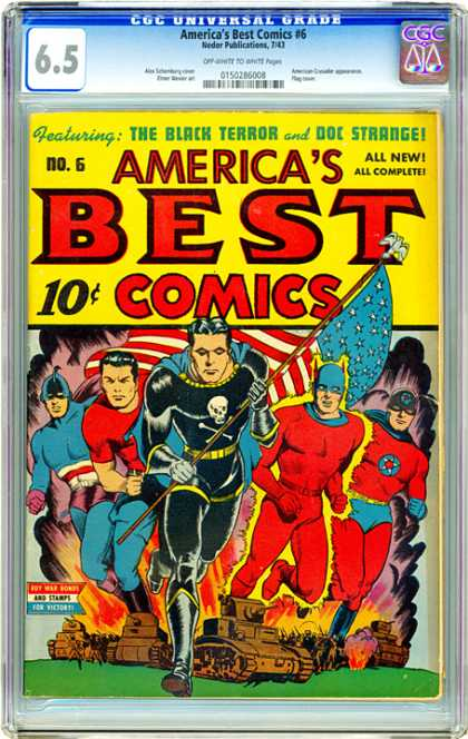 CGC Graded Comics - America's Best Comics #6 (CGC)