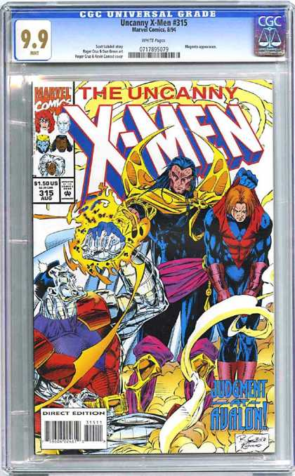 CGC Graded Comics - Uncanny X-Men #315 (CGC)