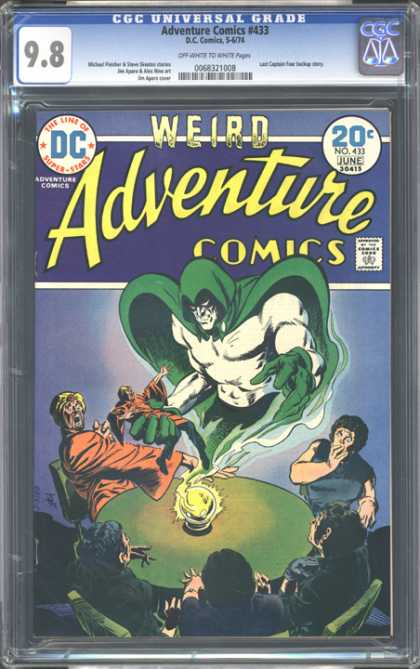 CGC Graded Comics - Adventure Comics #433 (CGC)