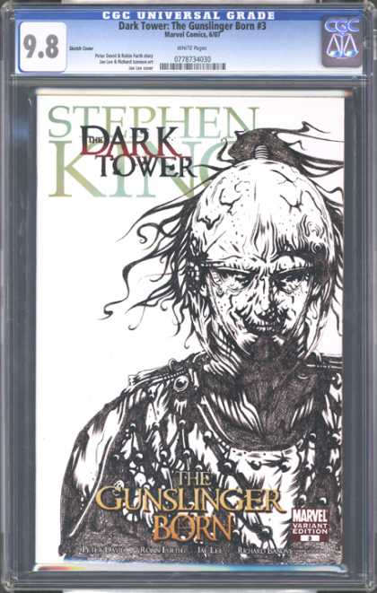 CGC Graded Comics - Dark Tower: The Gunslinger Born #3 (CGC) - 98 - Dark Tower The Gunslinger Born 3 - Marvel Comics - Stephen King - 778734030
