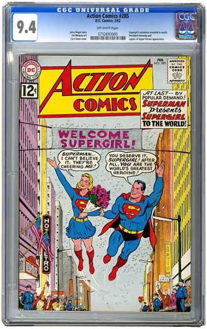 CGC Graded Comics - Action Comics #285 (CGC)
