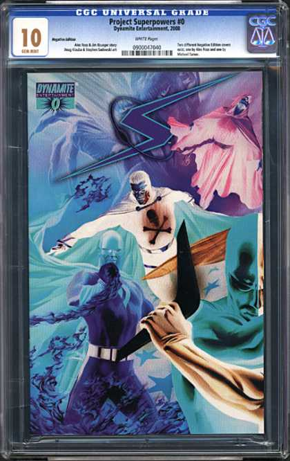 CGC Graded Comics - Project Superpowers #0 (CGC)