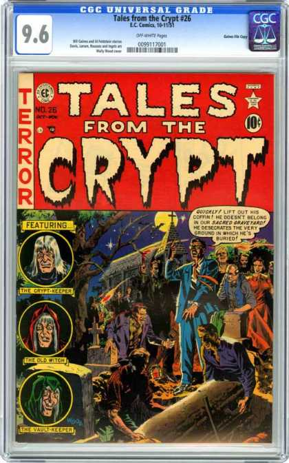 CGC Graded Comics - Tales from the Crypt #26 (CGC)
